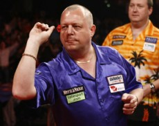 King bei der Premier League Darts 2009