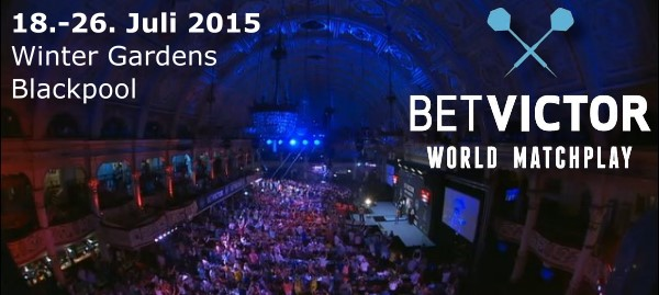 World Matchplay 2015 Winter Gardens Blackpool